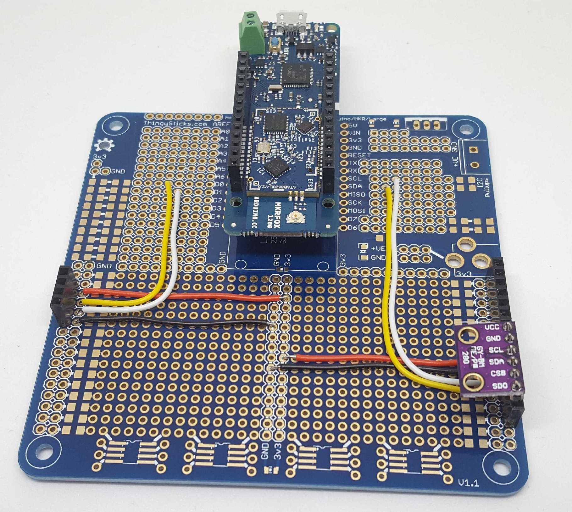Arduino Prototyping for the MKR 1000 and MKR FOX 1200